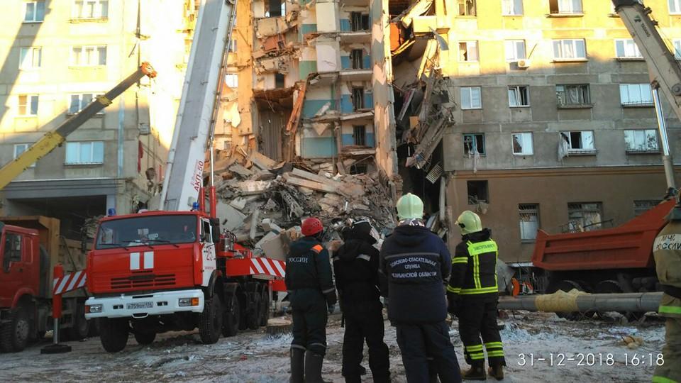 Взрыв прогремел в 6 часов утра 31 декабря.