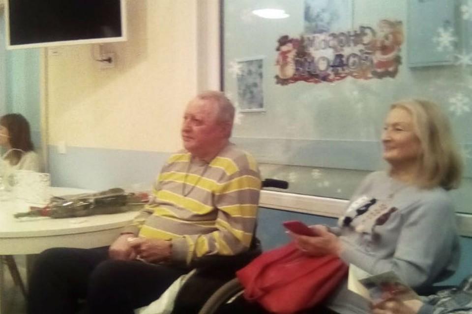 Отец и мать Волочковой приехали на праздник. Фото: Instagram