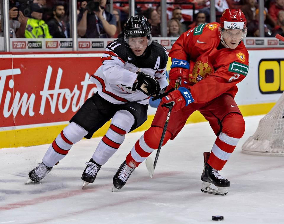 Россия играет против США в полуфинале МЧМ-2019.