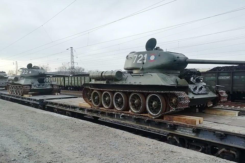 Теперь, когда танки прибыли во Владивосток, их по железной дороге доставят в Наро-Фоминск