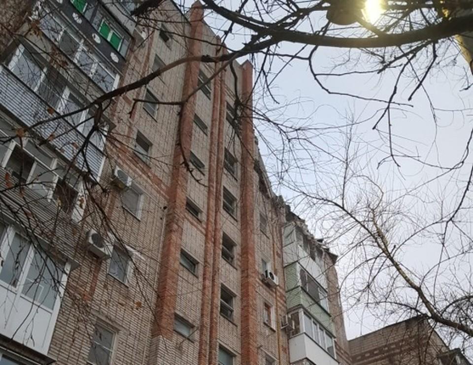 Место обрушения. Фото: СК России