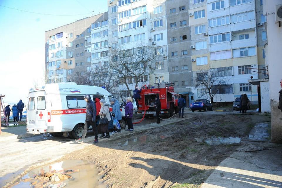Взрыв на крыше дома произошел 12 января. Фото: Роман Кушнир.
