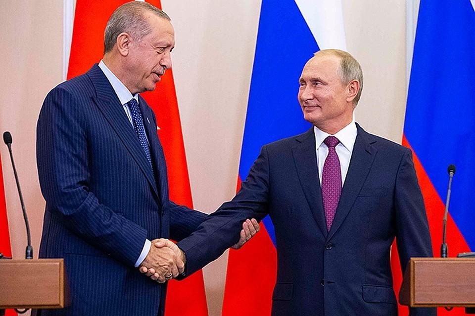 Путин рассказал, что на встрече с Эрдоганом обсудил дополнительные меры для стабилизации в районе Идлиба