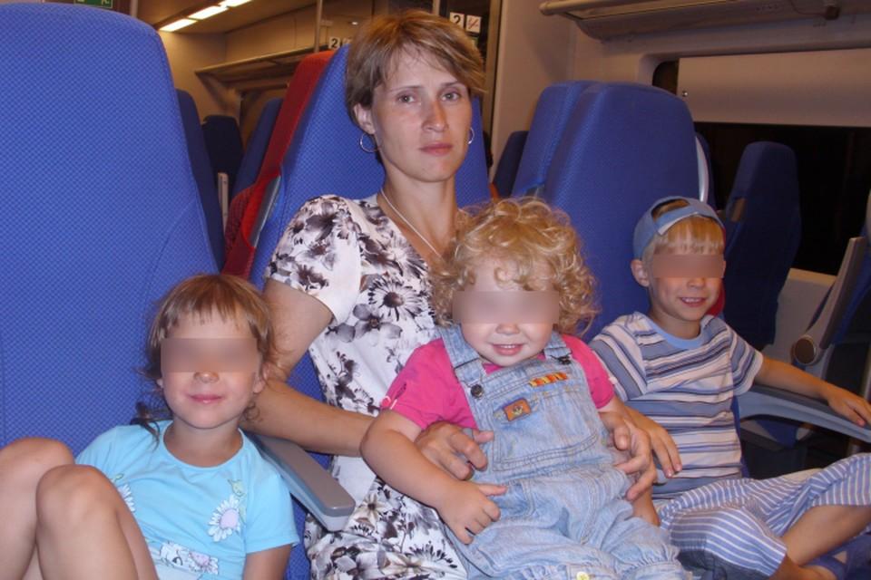В Калининградскую область Марина Черемисина приехала с тремя детьми. Сейчас у нее уже четверо.