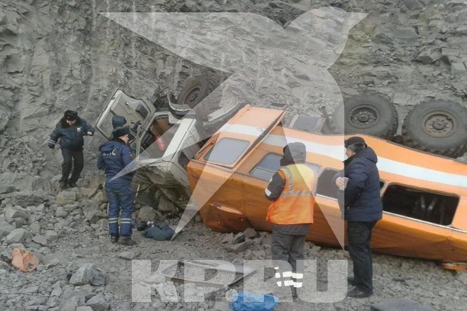 """Авария произошла утром 8 февраля Фото: """"Комсомольская правда"""""""