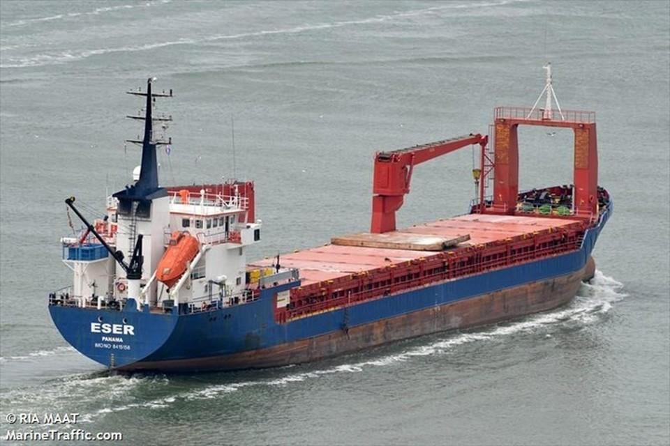 """Мурманский экипаж судна """"ESER"""" случайно оказался замешан в коварные планы наркомафии. Фото: Ria Maat (marinetraffic.com)"""