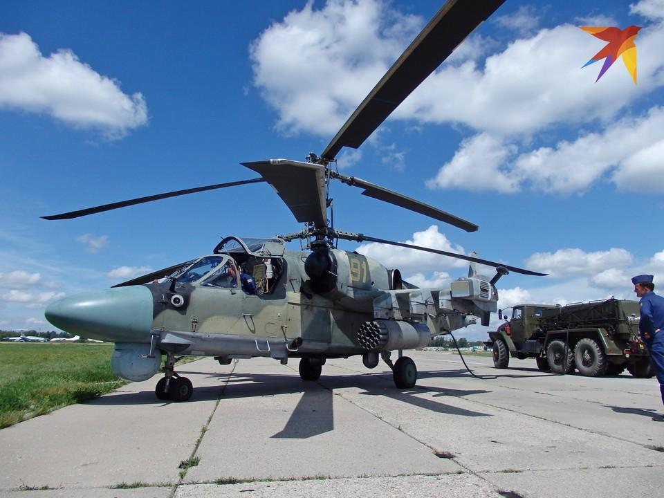 Для шоу Авиамикс взлетали машины с аэродрома Дягилево.