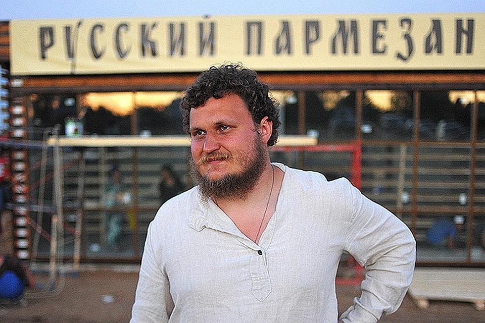 Фермер Олег Сирота.