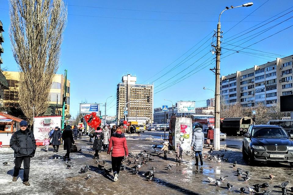 dec8da06a2c Погода в Луганске  синоптики прогнозируют 27 февраля в ЛНР до 2 градусов  тепла