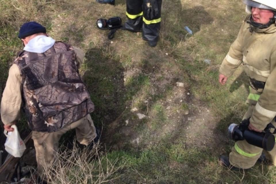 В шахте нет мобильной связи и хорошая звукоизоляция. Фото: пресс-служба МЧС по Крыму