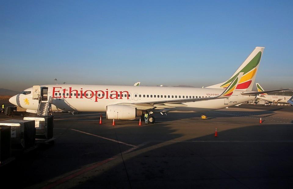 Авиалайнер Boeing-737 MAX 8 потерпел крушение спустя несколько минут после вылета из аэропорта Аддис-Абебы
