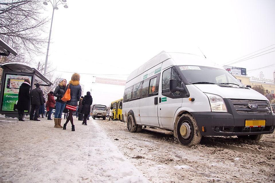 Из-за маршруток на дорогах Челябинска творится бардак.