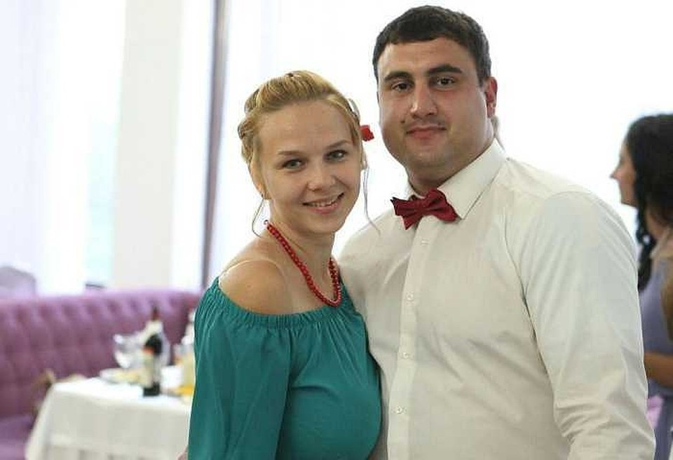 Елена и Арам Мачкалян ждали второго ребенка, сына. Фото: из семейного архива