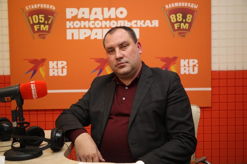 Глава Минераловодского городского округа Сергей Перцев