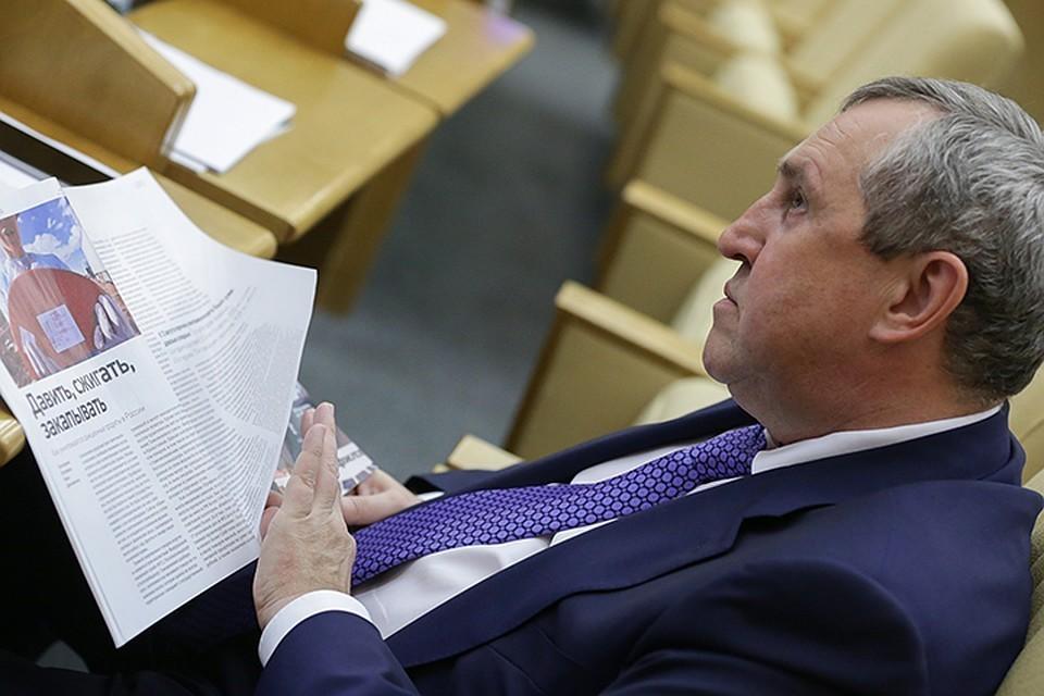Депутат Вадим Белоусов. Фото - Анна Исакова ТАСС