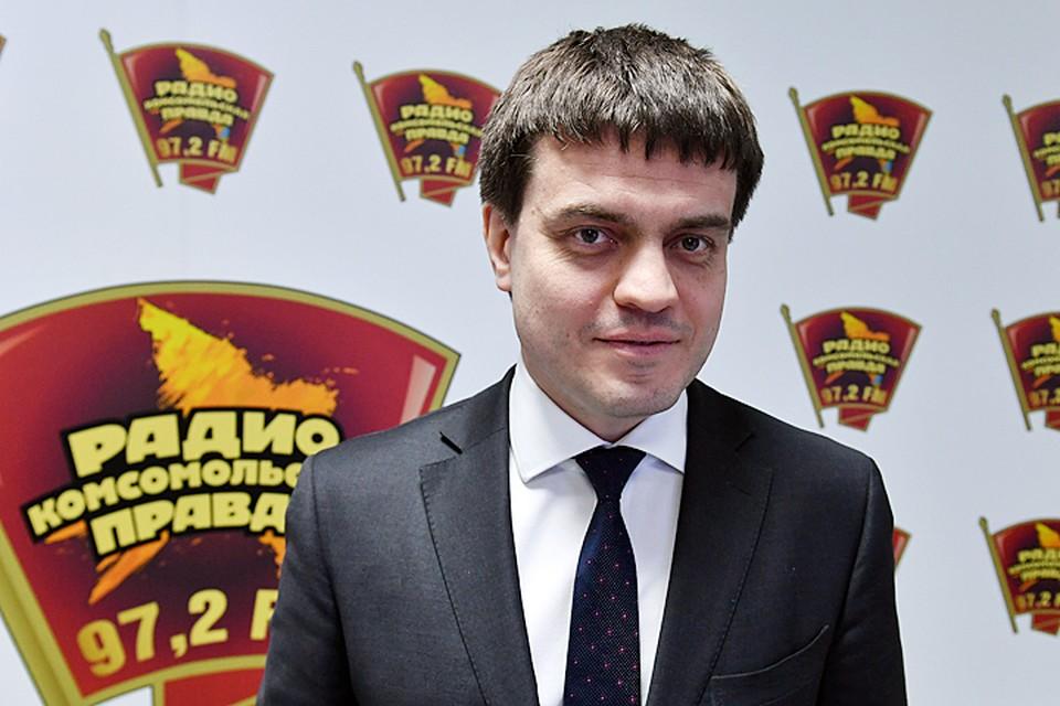 """Михаил Котюков в гостях у """"Комсомолки"""""""