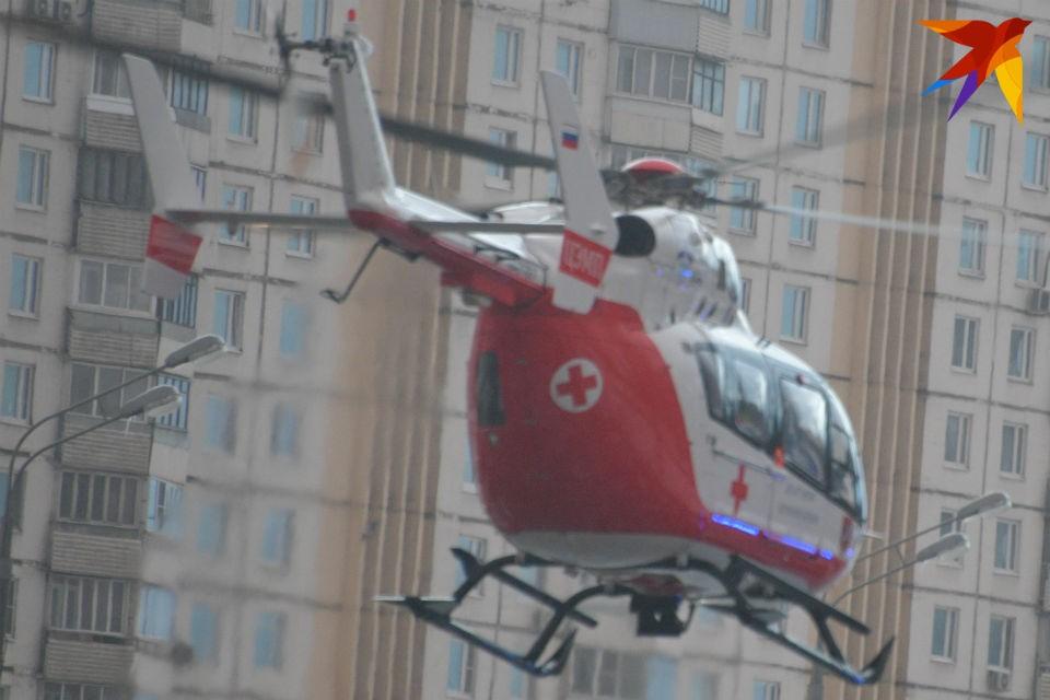 Вертолеты с тяжелыми пациентами теперь будут садиться в черте Мурманска.
