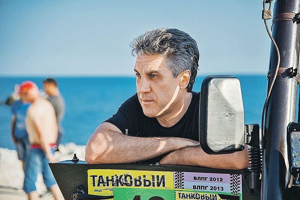 """Алексей Пиманов на съемках фильма """"Крым"""". ФОТО Пимановфильм"""