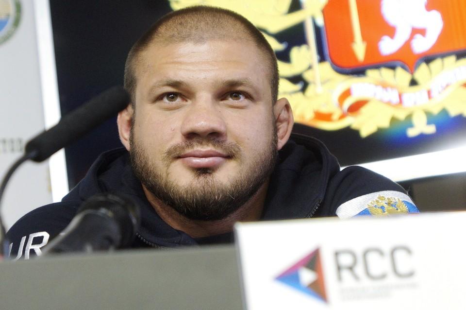 Штырков будет участвовать в дивизионе до 93 кг