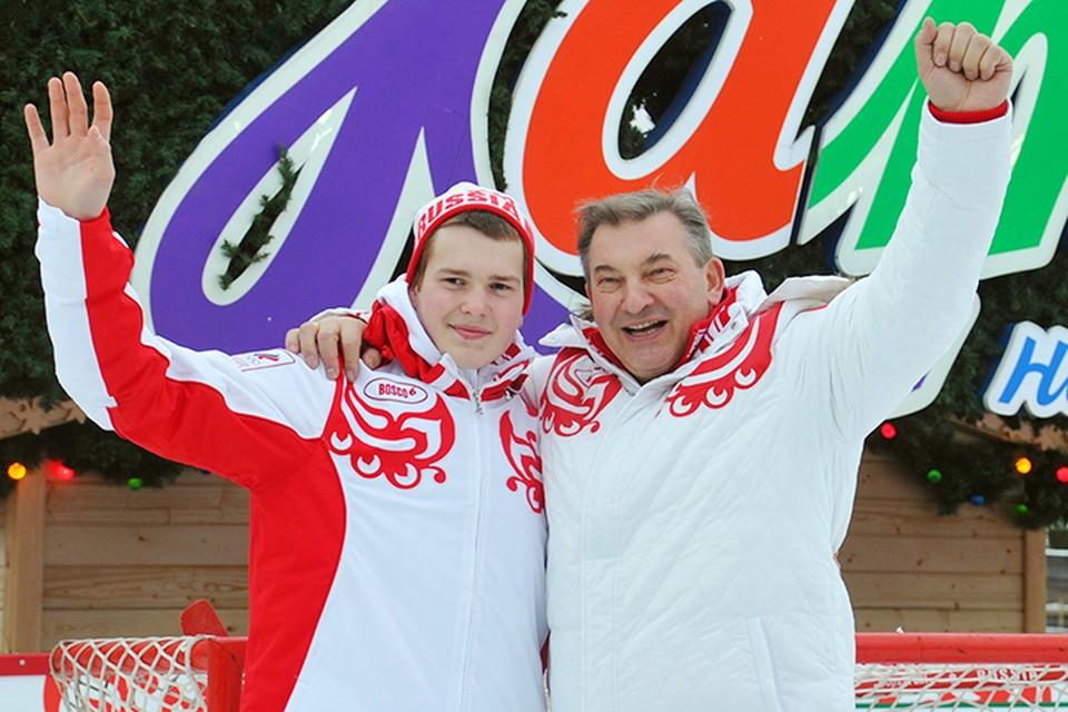 Про Максима Третьяка, внука легенды мирового хоккея, недавно вспомнили благодаря тому, что он появился в заявке ЦСКА