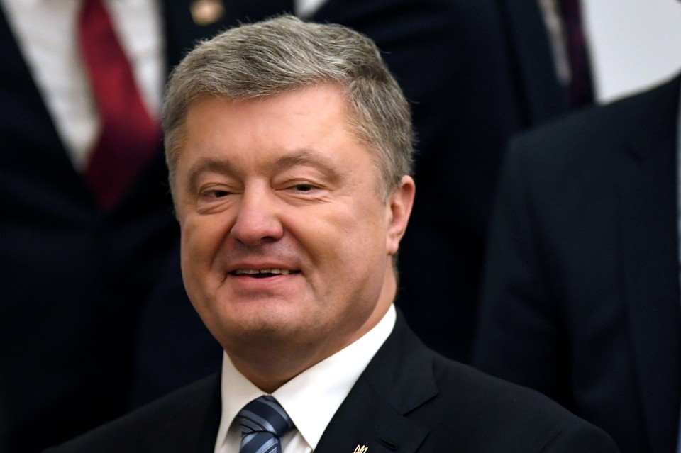 Украинский президент Петр Порошенко