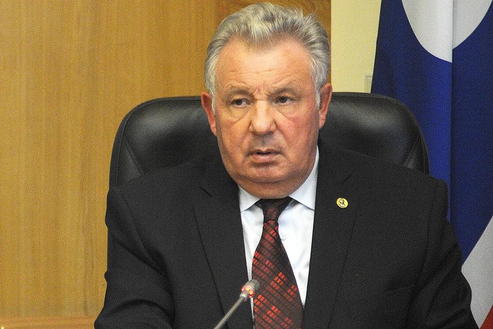 Задержанный бывший губернатор Хабаровского края Виктор Ишаев.