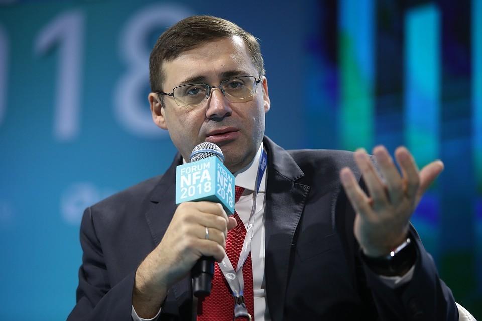 Первый зампред Центробанка Сергей Швецов. Фото: Ведомости/ ТАСС