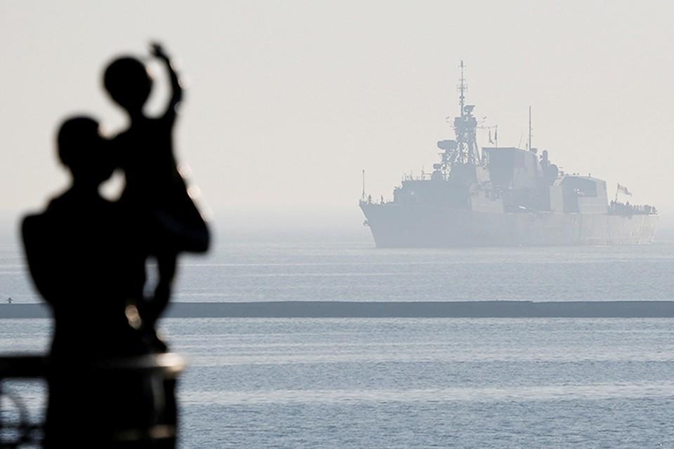 Сейчас в одесском порту стоят два корабля НАТО