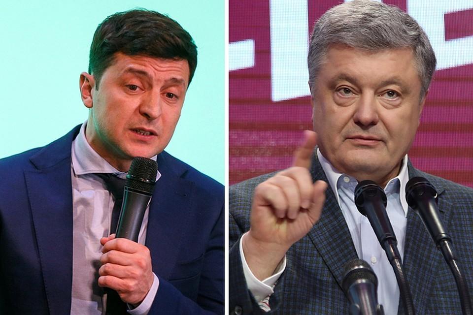 Зеленский и Порошенко прошли во второй тур выборов на Украине