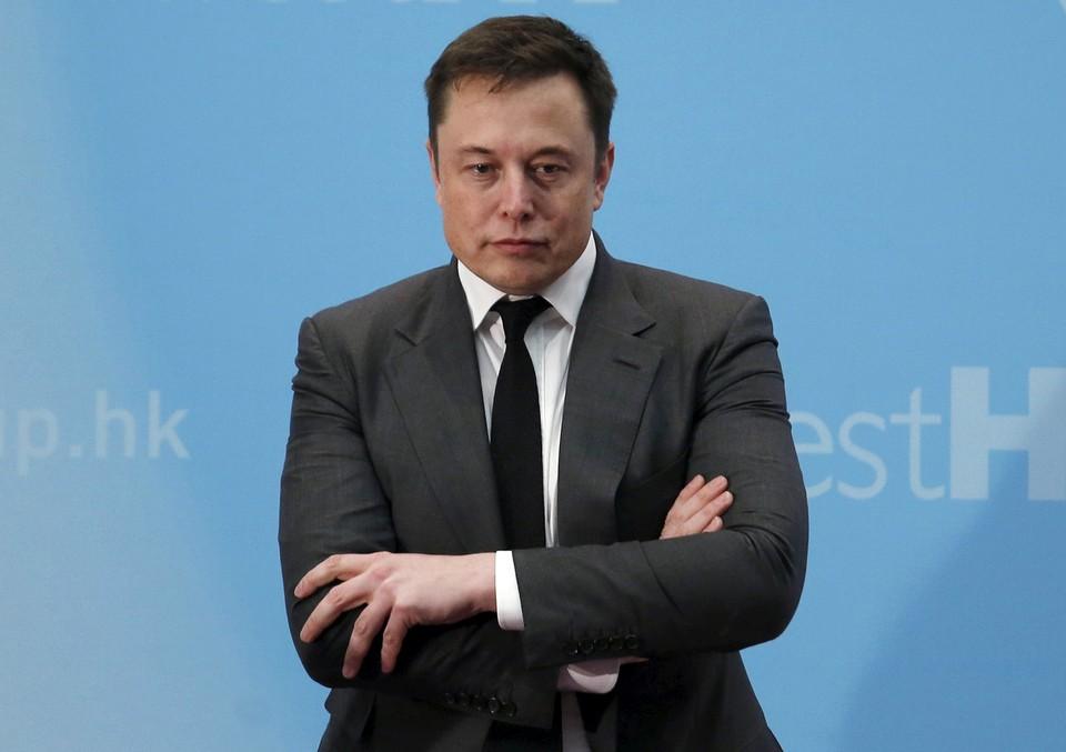 Глава компании Tesla Inc. Илон Маск