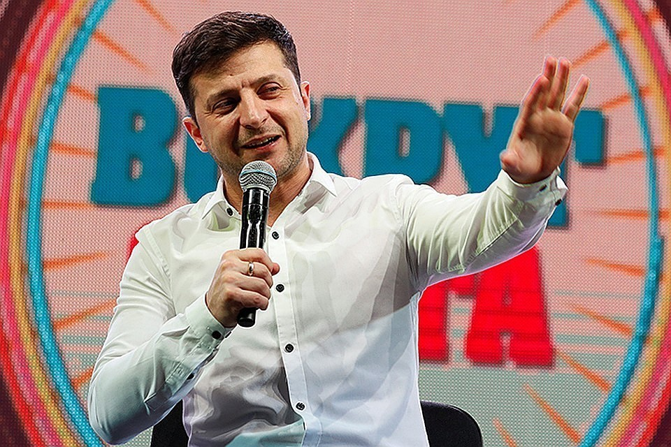 Зеленский был записан комиком в официальном бюллетене на выборах президента Украины