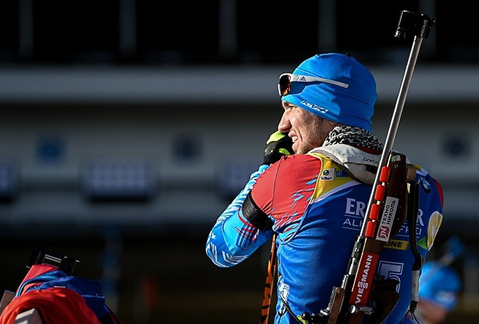 Александр Логинов. Фото сайта http://biathlonrus.com