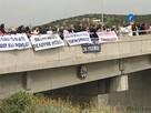 Воскресный протест: жители Писсури перекрыли трассу Лимассол-Пафос