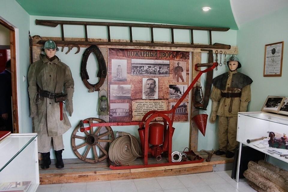 История огнеборцев поместилась на 20 квадратных метрах\ФОТО: Официальный Новороссийск