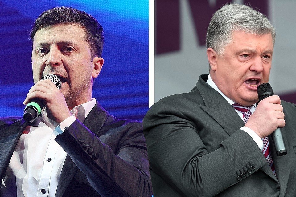 Стал известен формат дебатов Зеленского и Порошенко