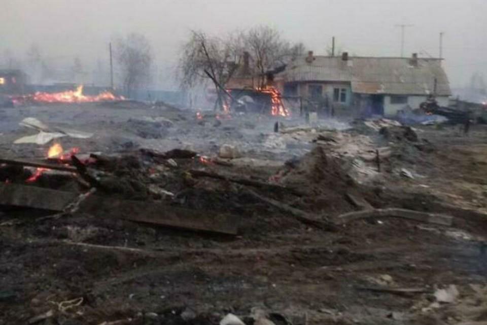 Появилось видео пожаров в Забайкальском крае. Фото: соцсети