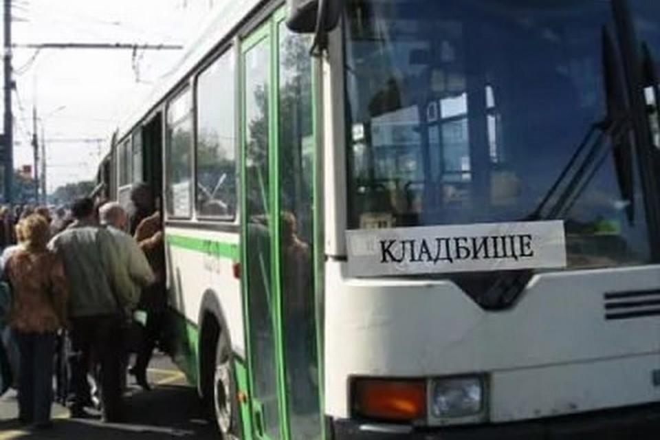 Как будет ходить транспорт на кладбища. Фото: girnyk.dn.ua