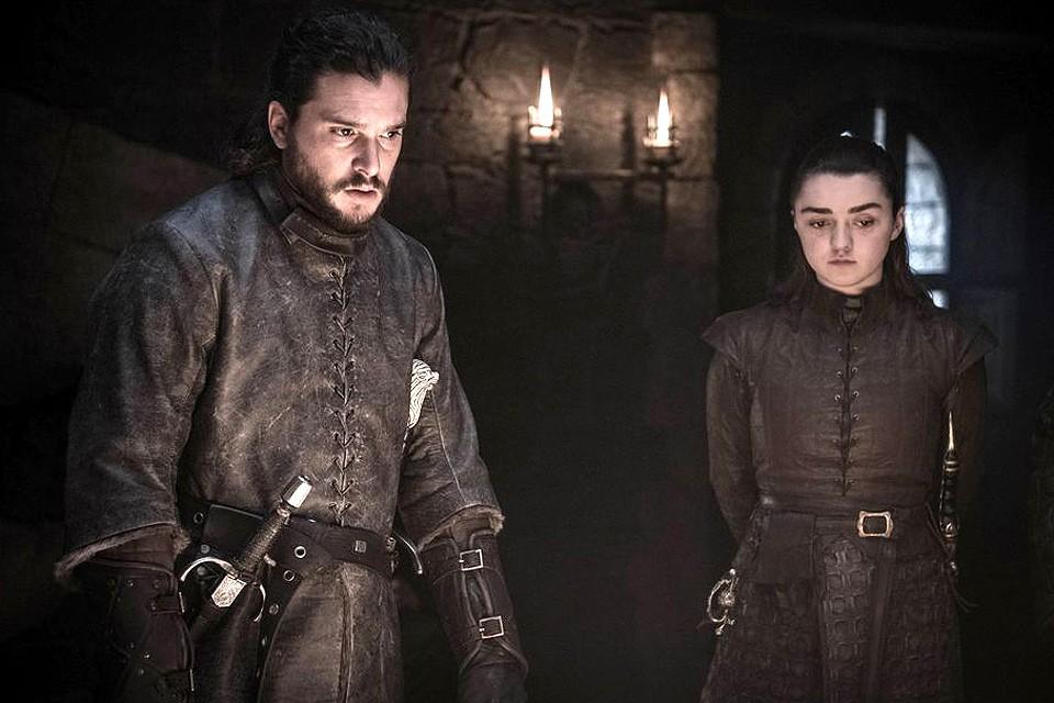"""Кадр из второго эпизода заключительного сезона """"Игры престолов""""."""