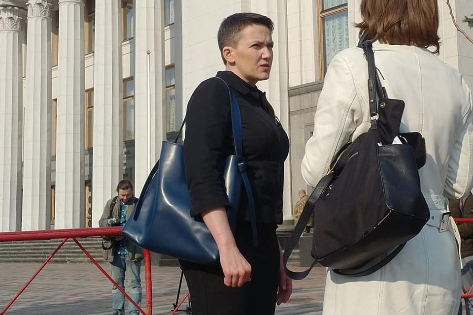 Надежда Савченко. Фото: Vira Savchenko/ Facebook