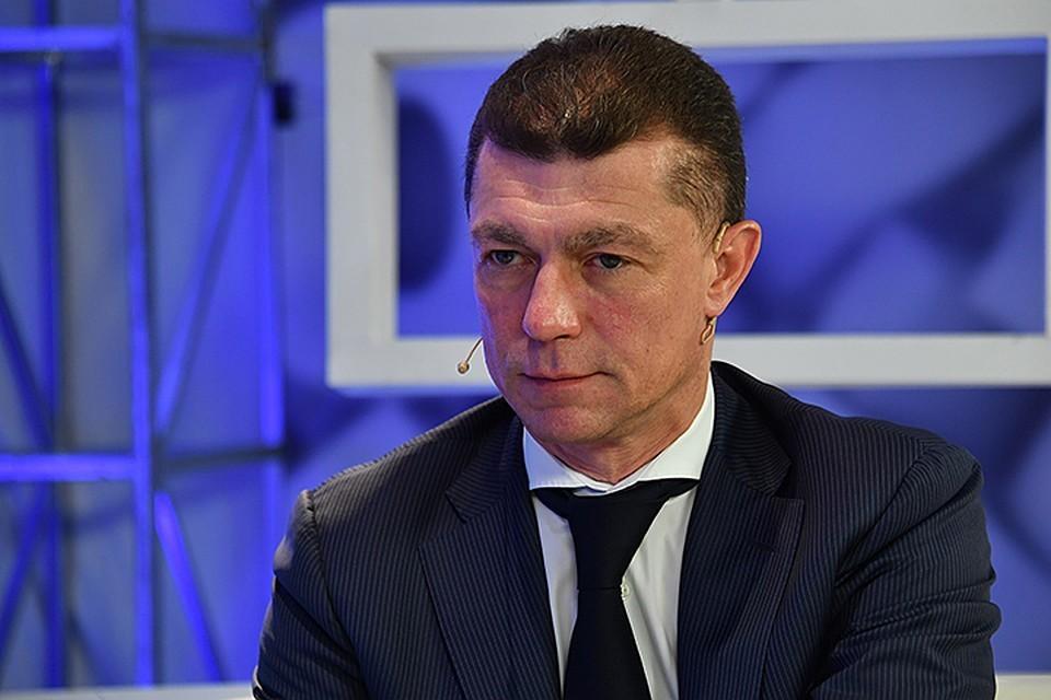Министр труда и соцзащиты Максим Топилин
