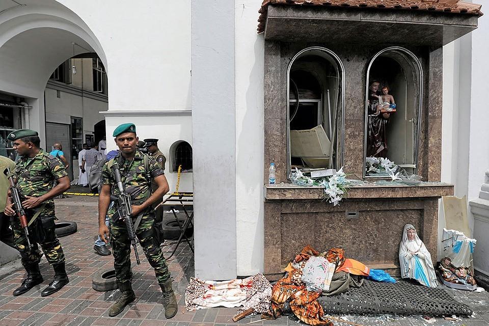 Правоохранительные органы Шри-Ланки задержали двух главных подозреваемых по делу о серии терактов