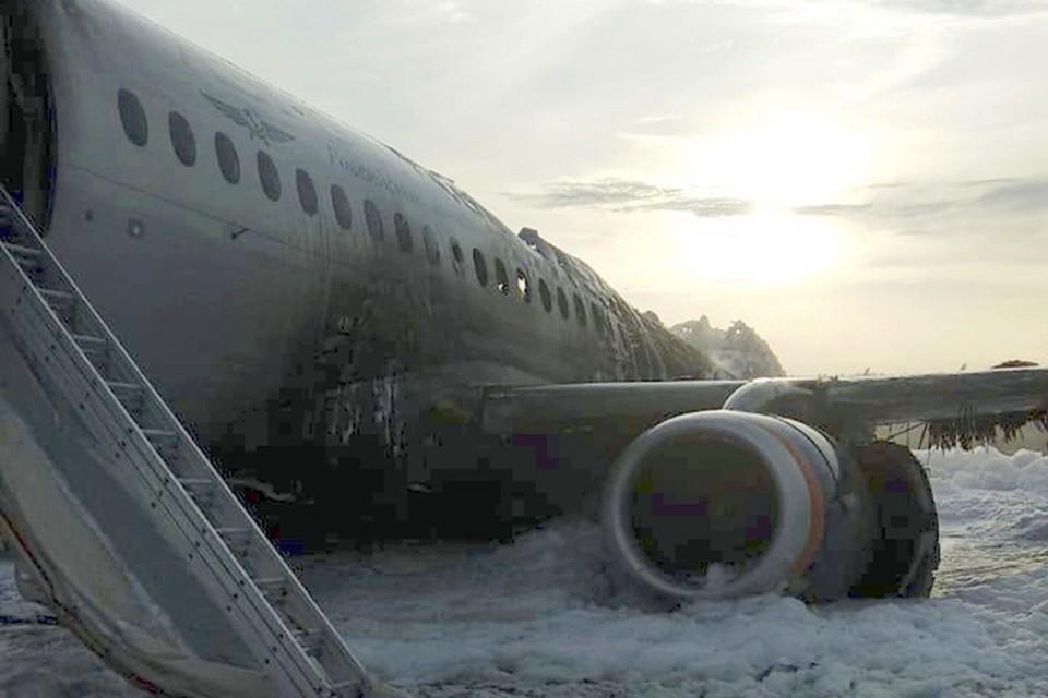 41 человек погиб в результате ЧП в Шереметьево