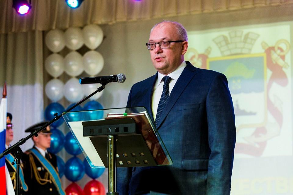 Глава Североморска вступил в должность 26 сентября 2017 года. Фото: правительство Мурманской области.