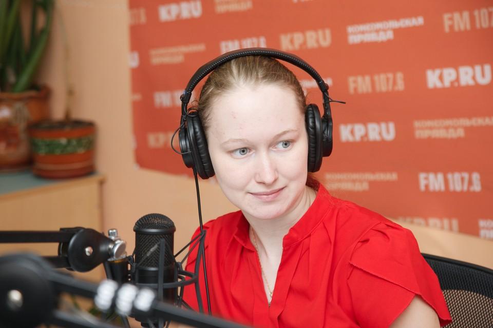 Журналист Анастасия Захарова