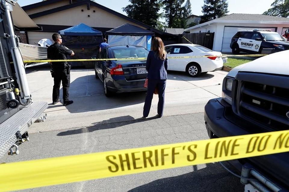Полиция обыскала дом незаконного торговца оружием