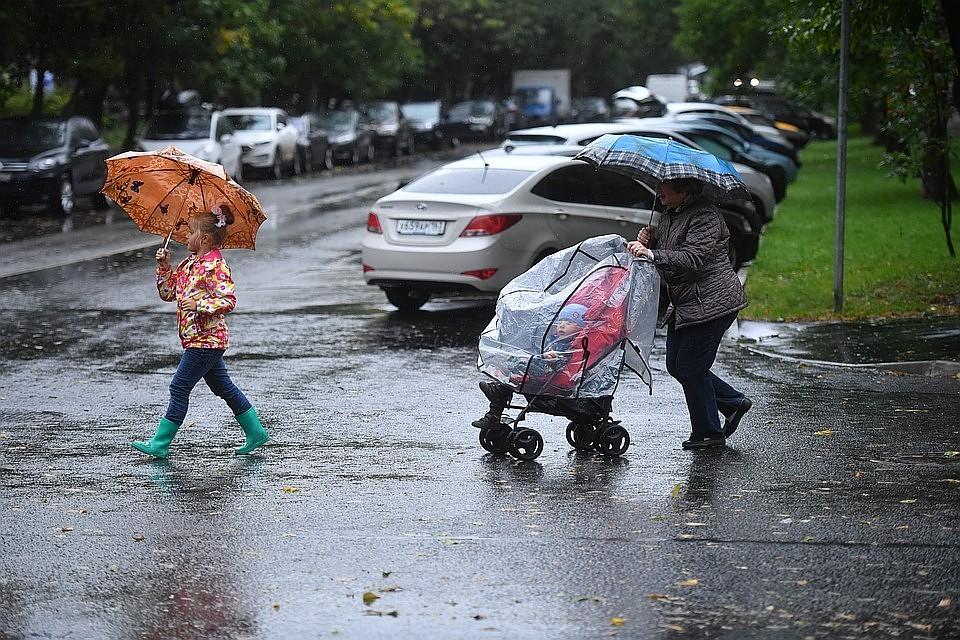После длинных выходных в Москве будет тепло и дождливо