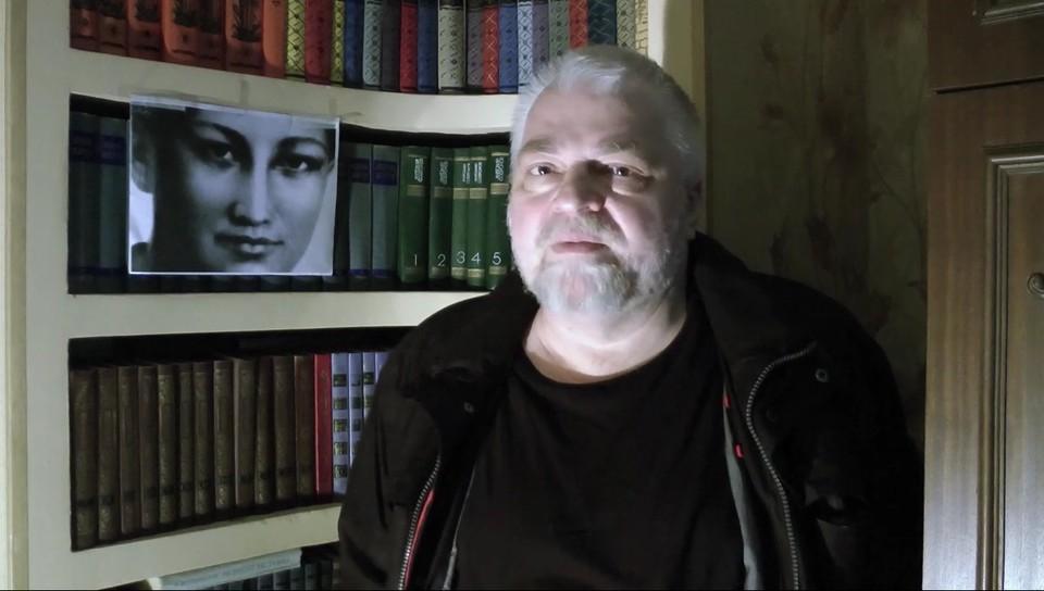 Руководитель организации и любитель советской истории Алексей Меняйлов. Фото: скриншот видео