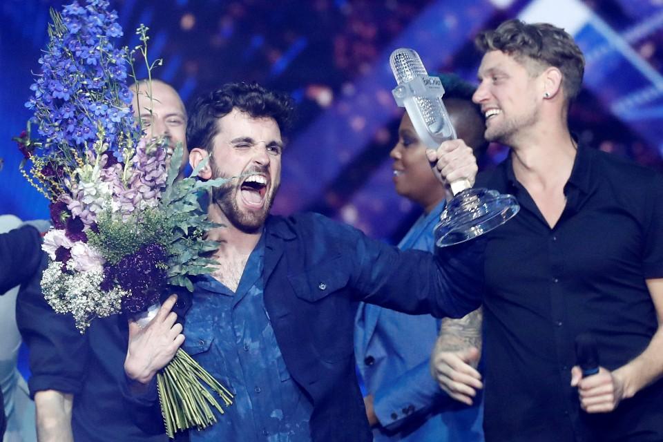 Победитель конкурса Евровидение-2019 Дункан Лоуренс
