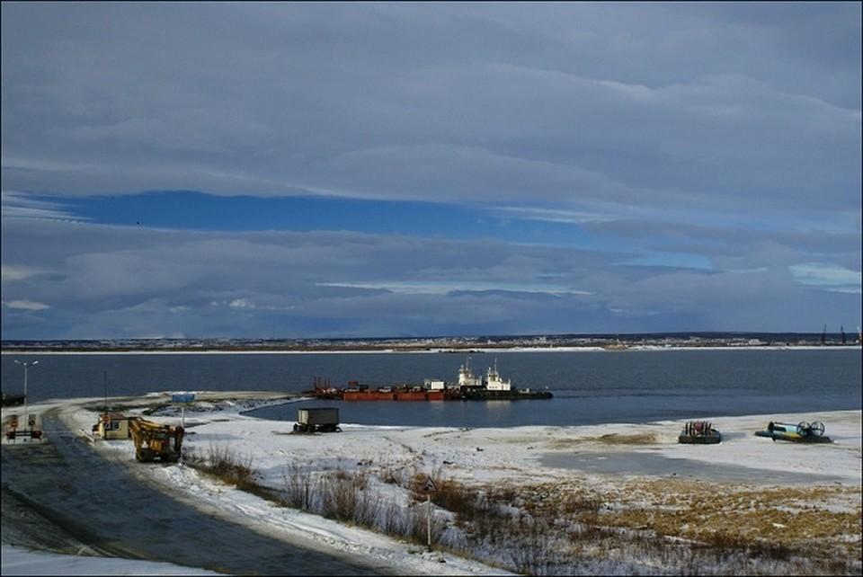 На главной переправе Ямала запустили паромное сообщение Фото: Департамента транспорта и дорожного хозяйства ЯНАО