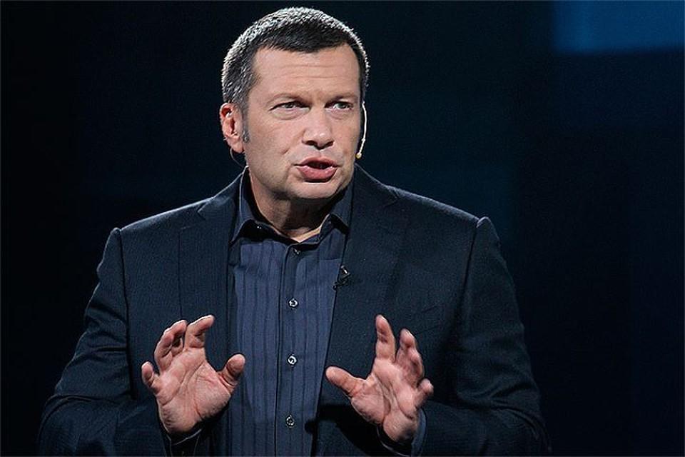 Владимир Соловьев рассказал о встрече с журналистом из Екатеринбурга